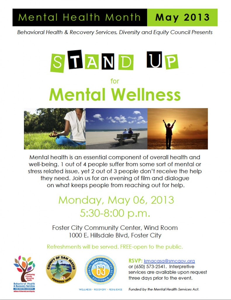 Stand Up for Mental Wellness