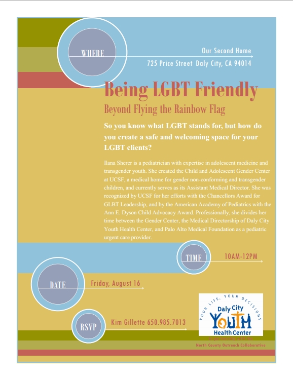 announcement  being lgbt friendly training  u2013 08  16  2013