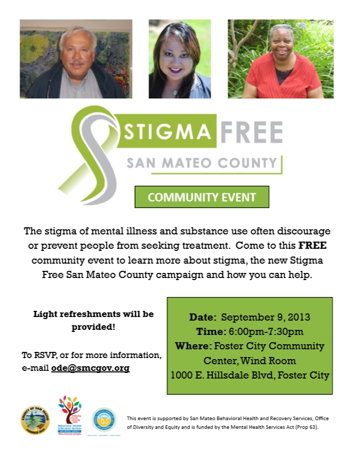 Stigma Free Kick-Off Flyer