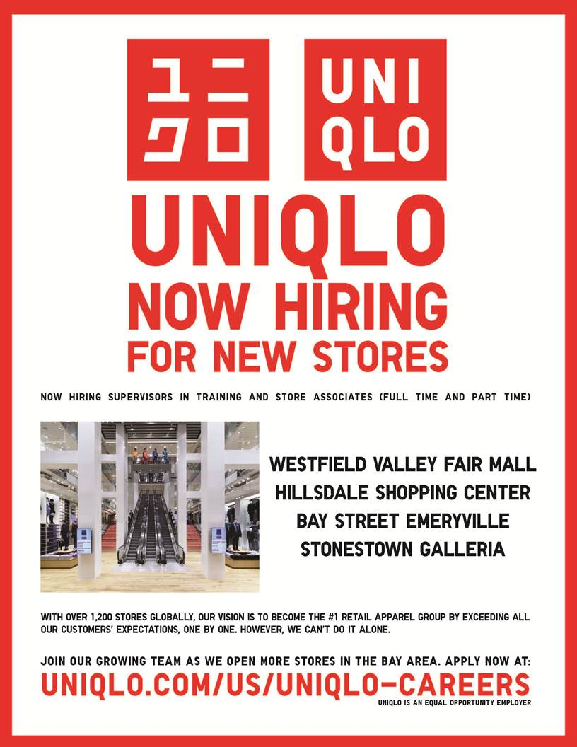 See the latest UNIQLO jobs on totaljobs. Get UNIQLO jobs sent direct to your email and apply online today! We'll get you noticed.