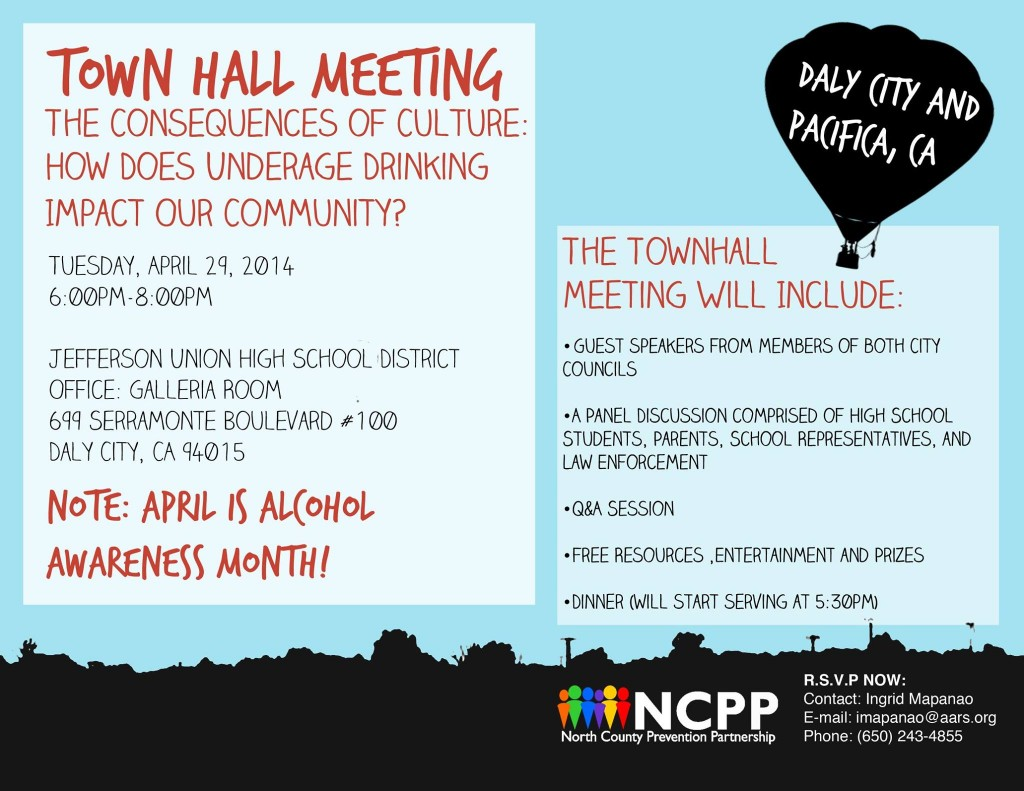 04.29.14 NCPP Town Hall Meeting Daly City and Pacifica