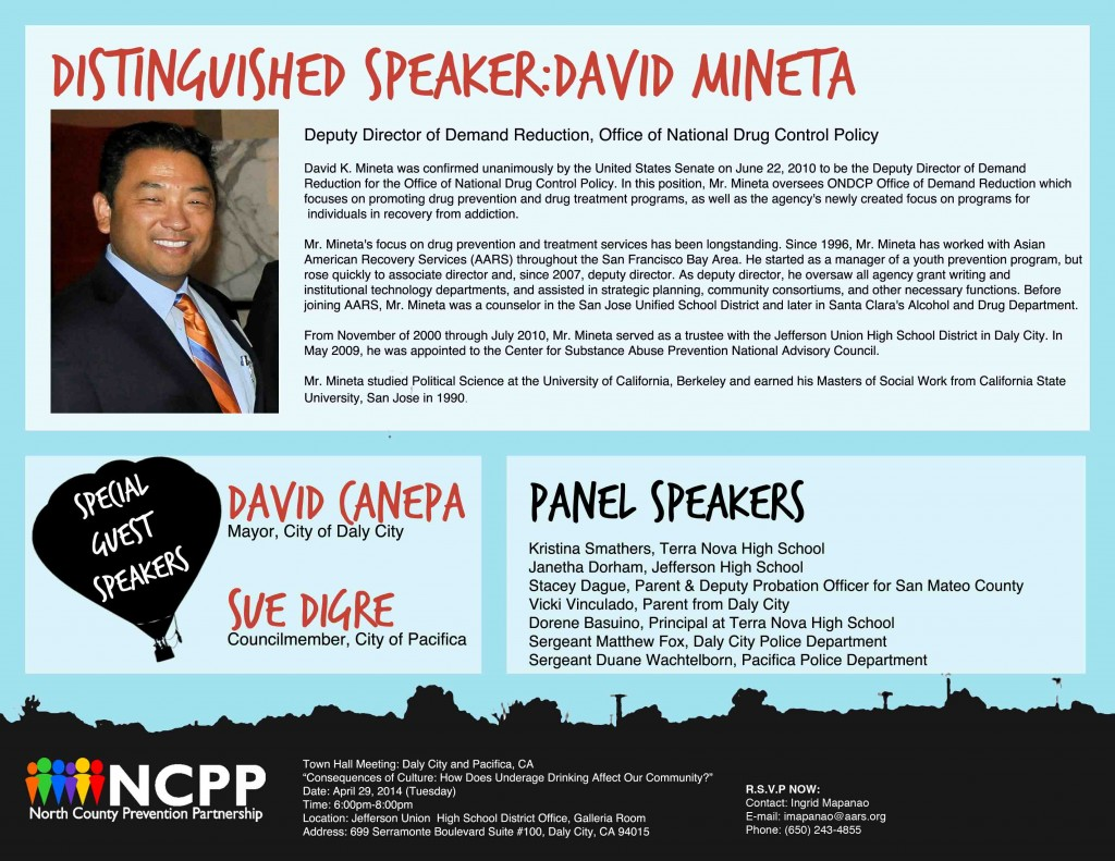 NCPP Town Hall Speakers