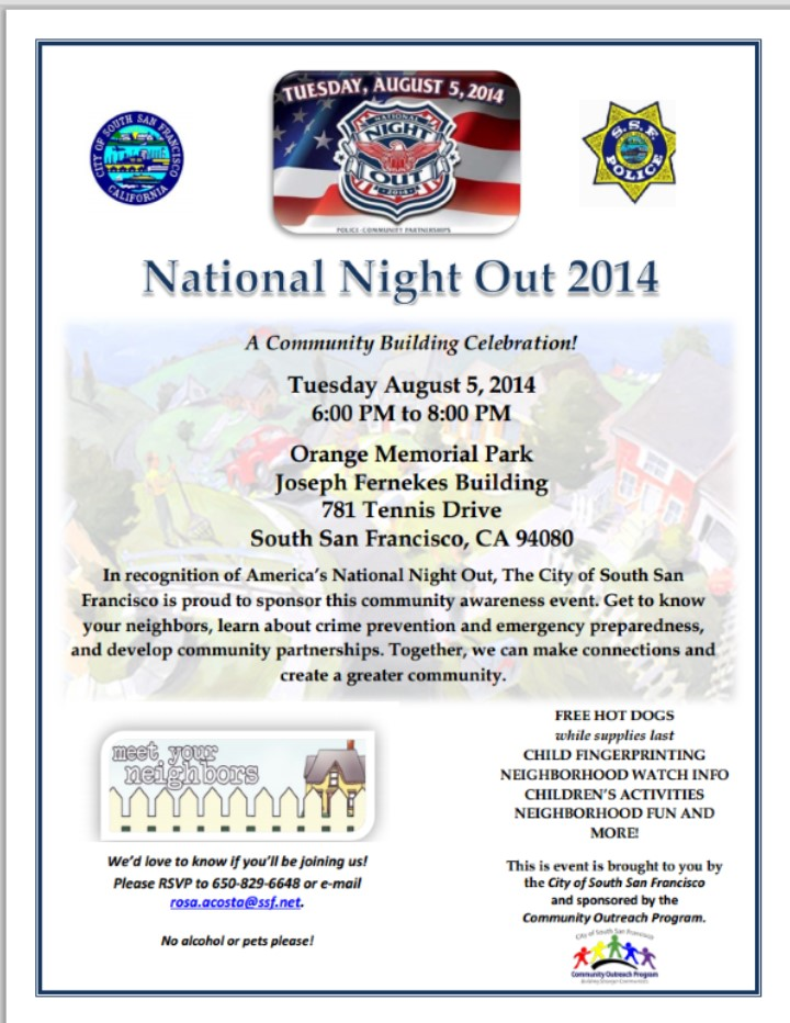 Natl Night Out 2014
