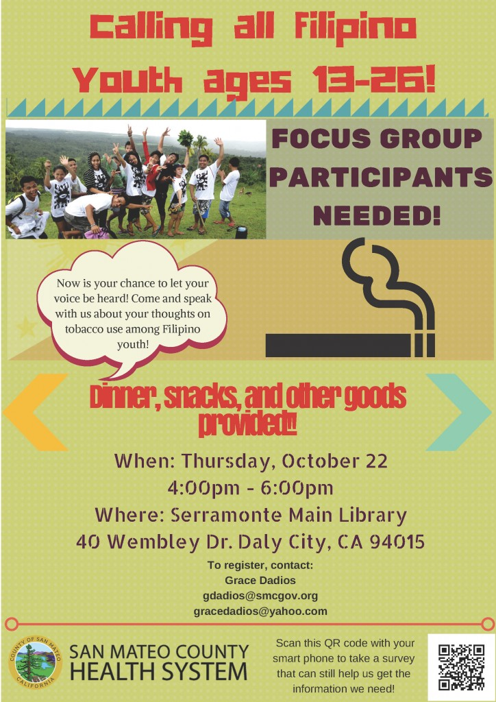 SMC Health System - Focus Group Youth Flyer FINAL